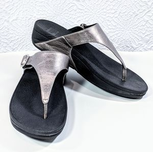 FitFlop The Skinny Toe-Post Thong Sandal